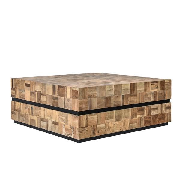 Elmwood sofabord (100x100)